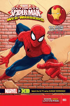MARVEL UNIVERSE ULTIMATE SPIDER-MAN: WEB WARRIORS #3