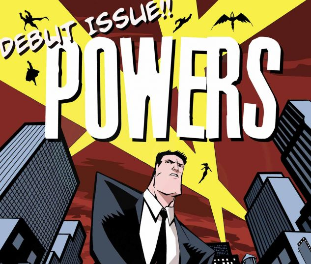 Powers #1 cover