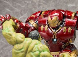 Hulk and Hulkbuster Iron Man Statues from Kotobukiya