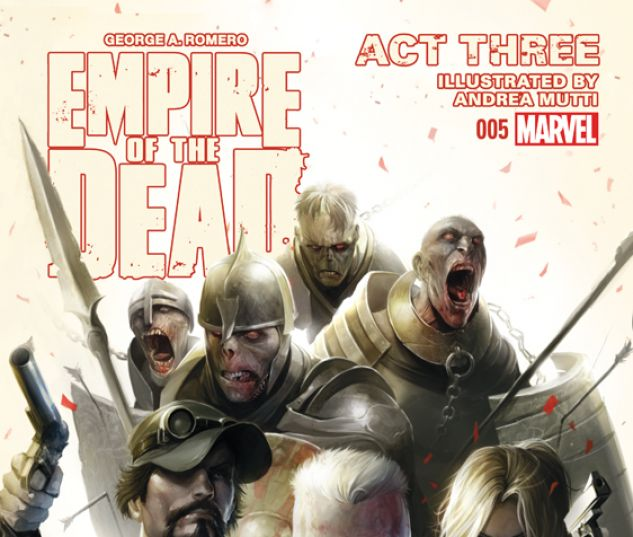 GEORGE ROMERO'S EMPIRE OF THE DEAD: ACT THREE 5