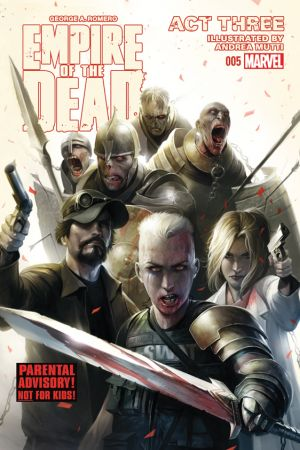George Romero's Empire of the Dead: Act Three #5