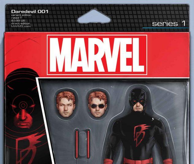Daredevil #1 variant art by John Tyler Christopher