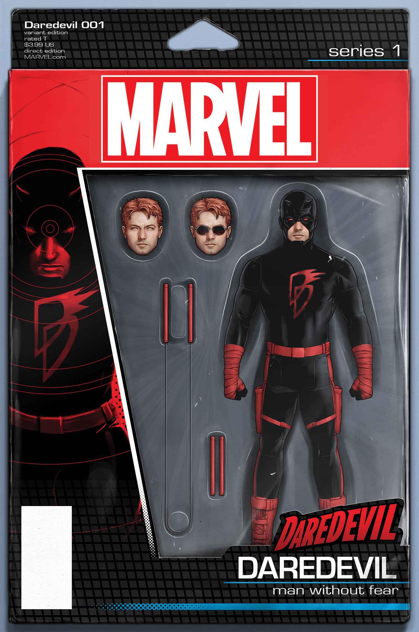 Daredevil (2015) #1 (Christopher Action Figure Variant)