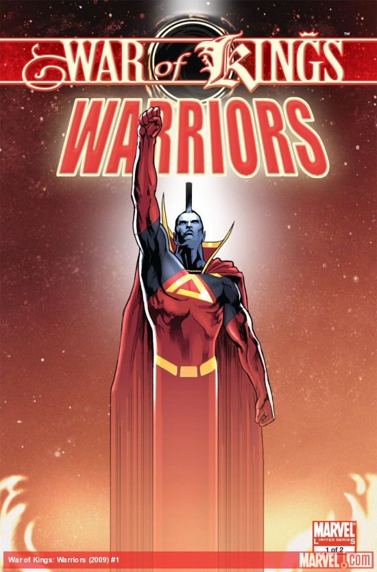 War of Kings: Warriors (2009) #1