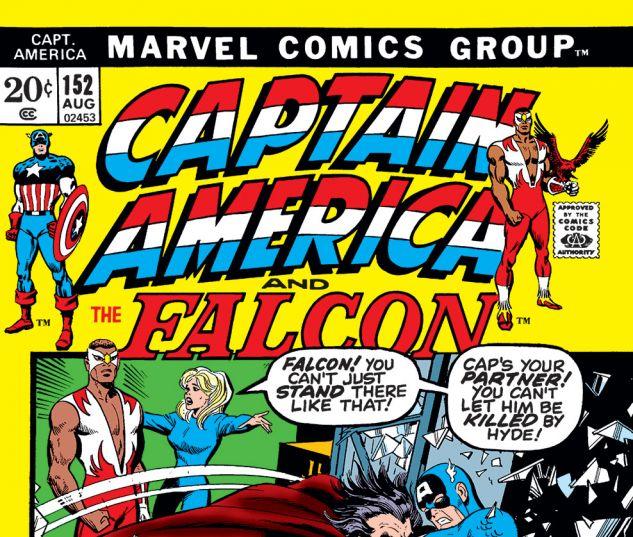 Captain America (1968) #152