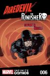 cover from Daredevil/Punisher: TBD Infinite Comic (2016) #6