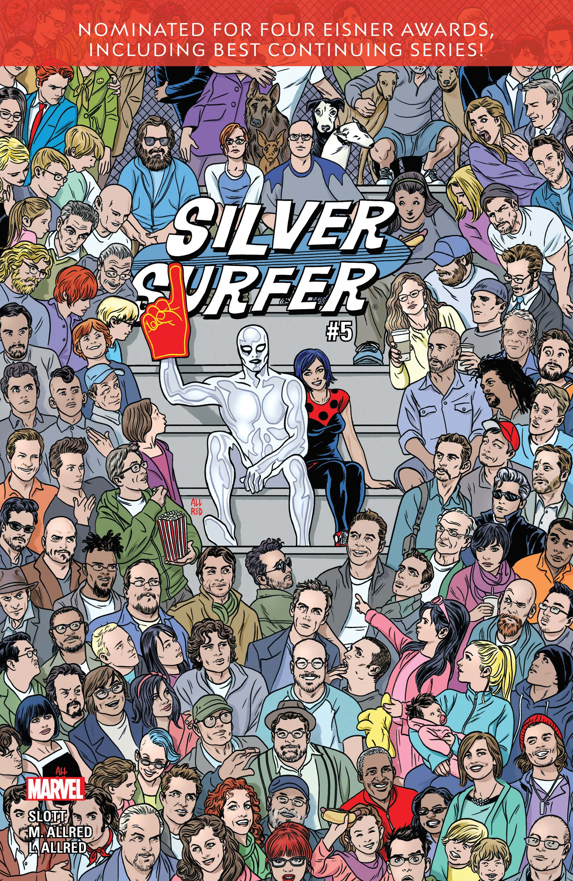 Silver Surfer (2016) #5