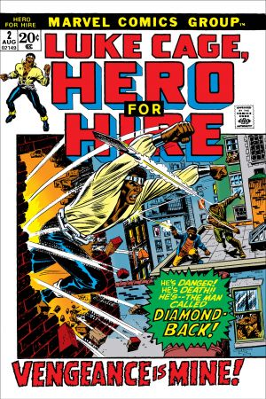 Luke Cage, Hero for Hire  #2
