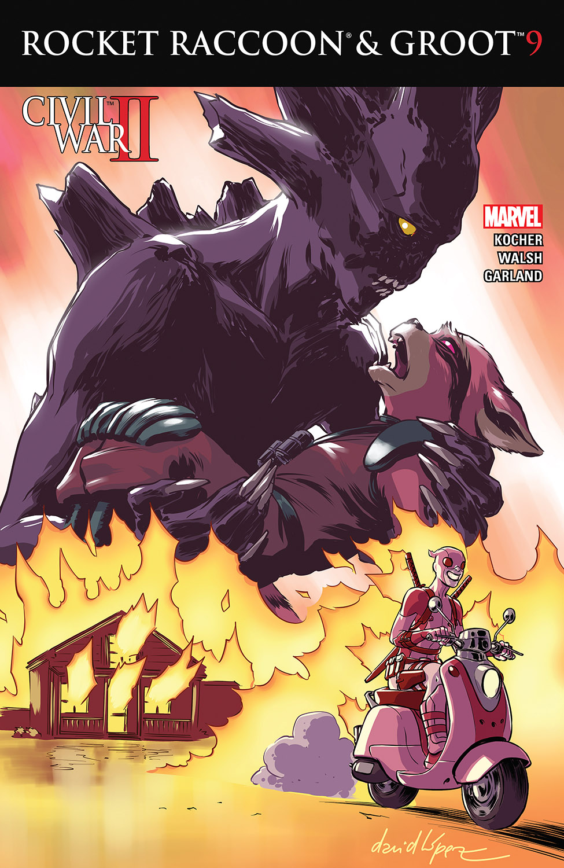 Rocket Raccoon & Groot (2016) #9