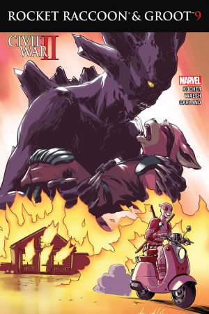 Rocket Raccoon & Groot #9