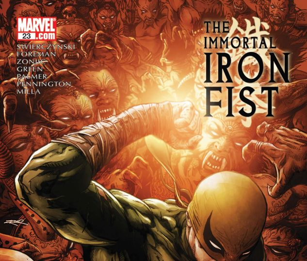 THE IMMORTAL IRON FIST (2006) #23