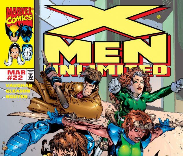 X-MEN UNLIMITED (1993) #22