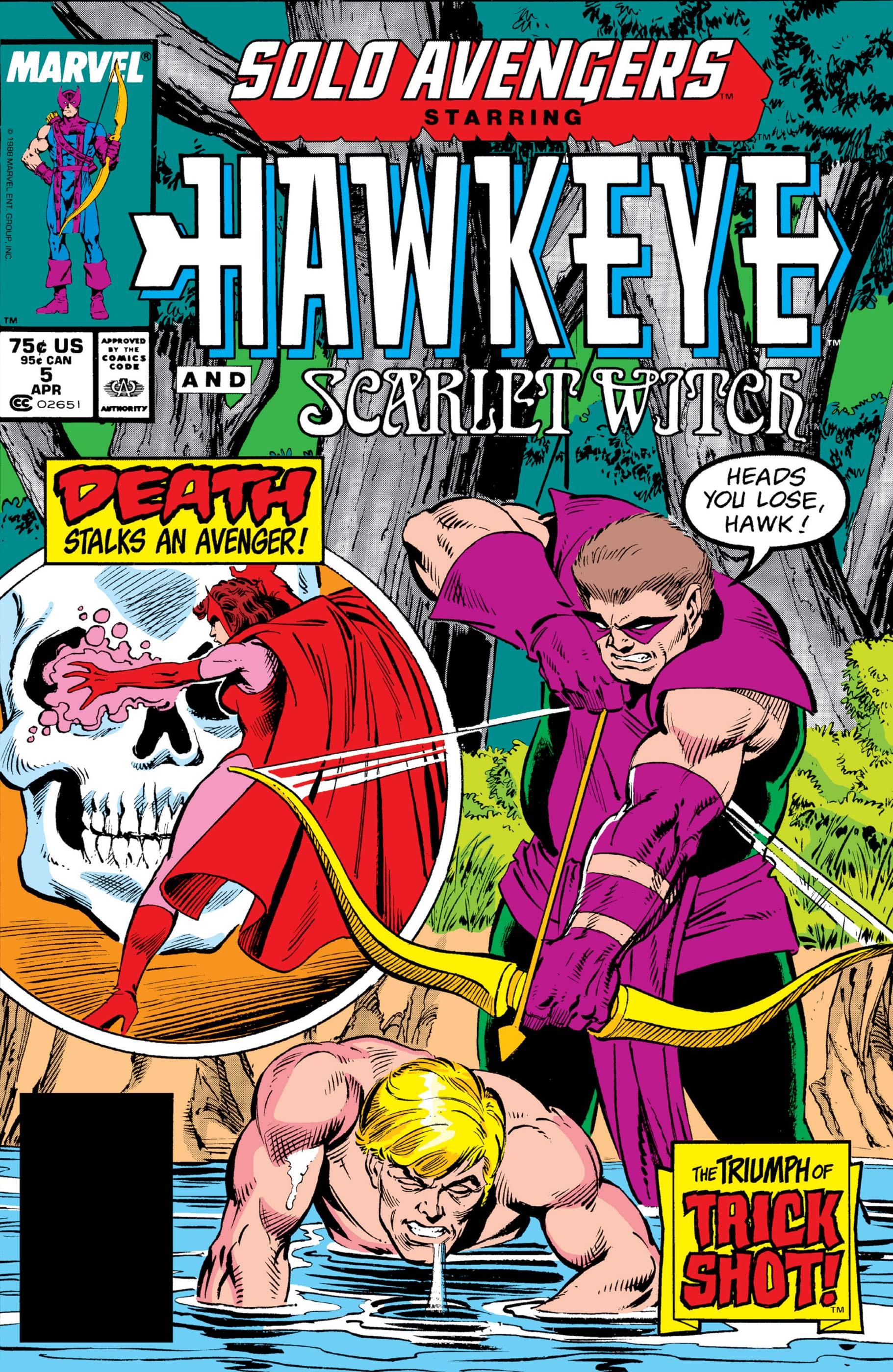Solo Avengers (1987) #5