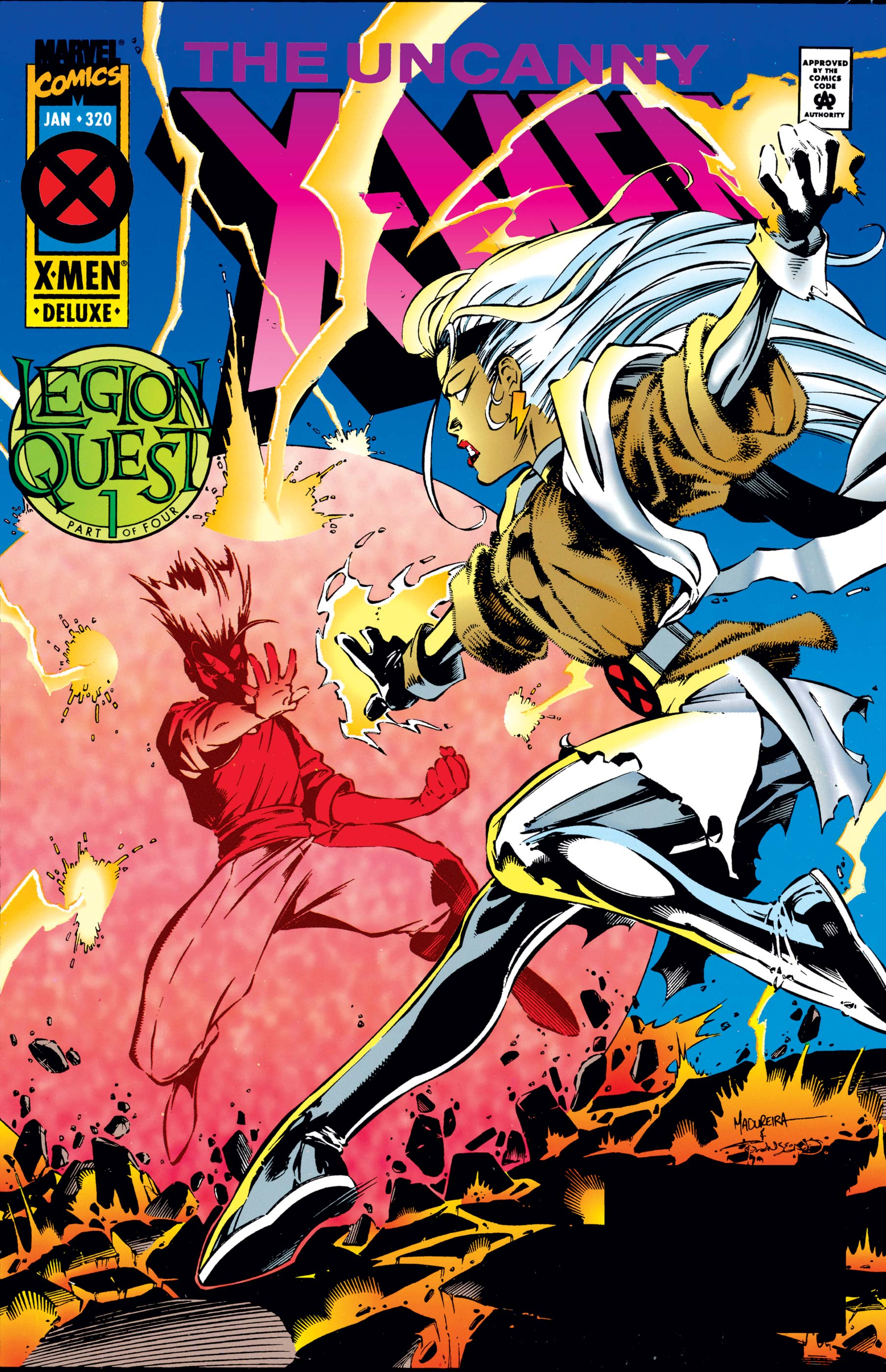 Uncanny X-Men (1963) #320