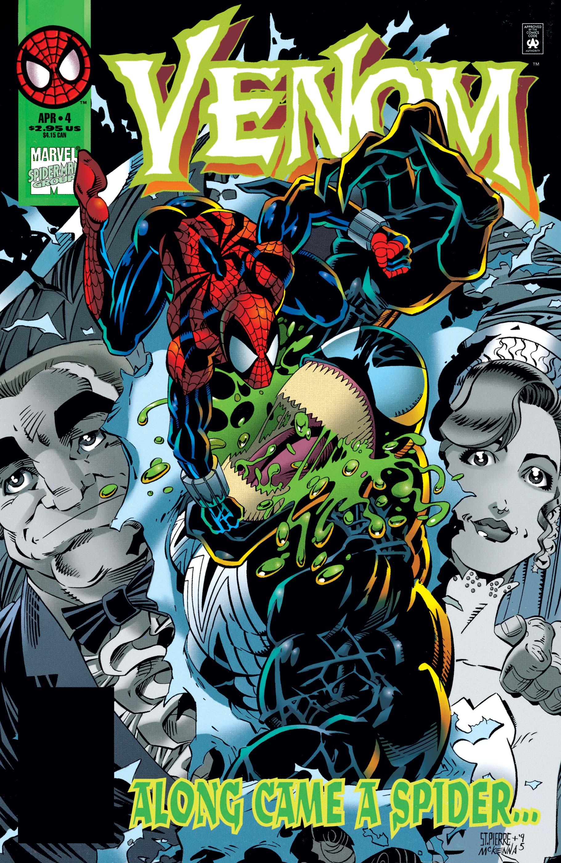 Venom: Along Came a Spider (1996) #4