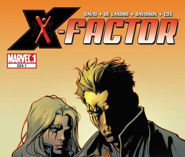 X-Factor (2005) #224.1