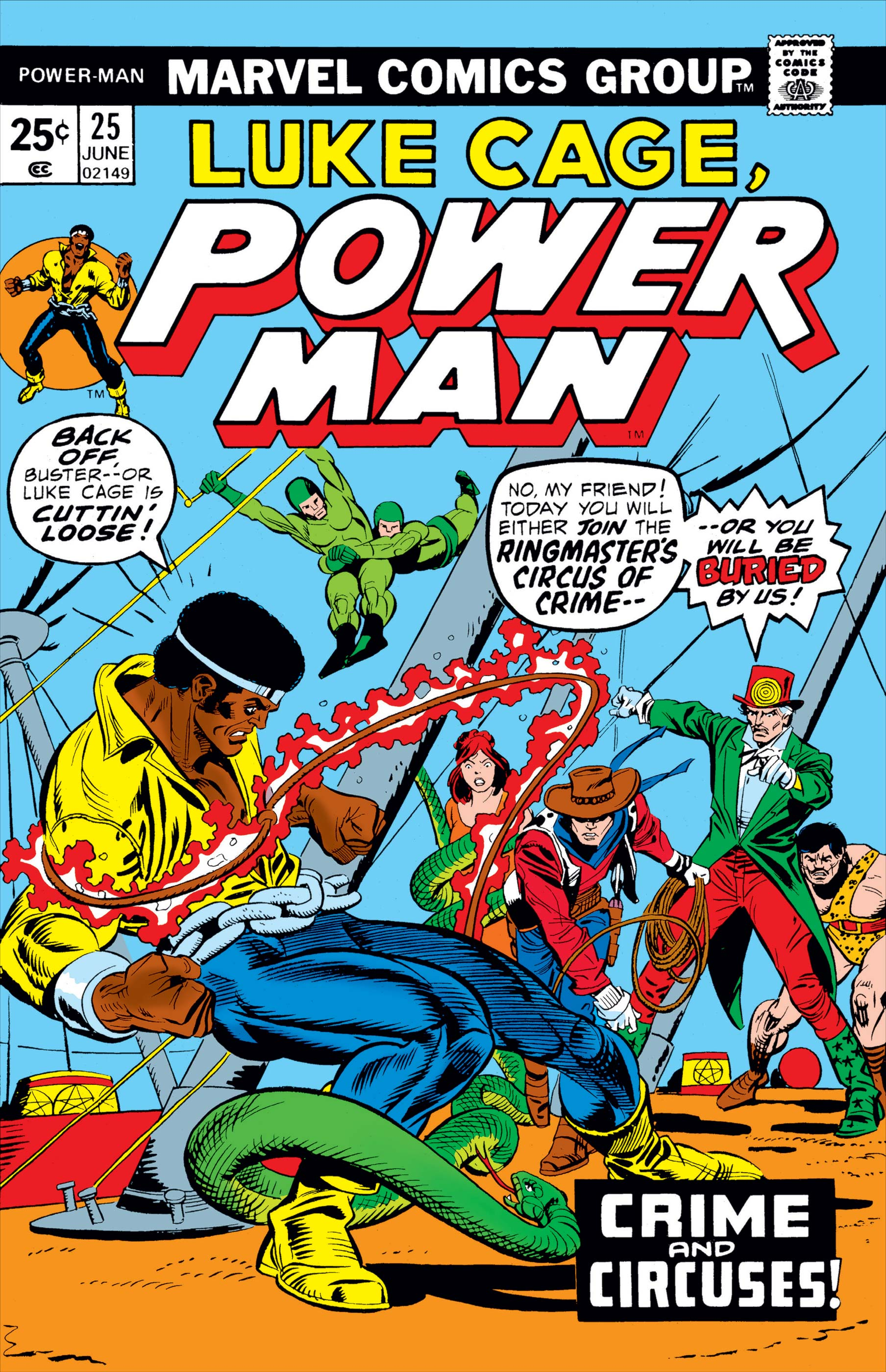 Power Man (1974) #25