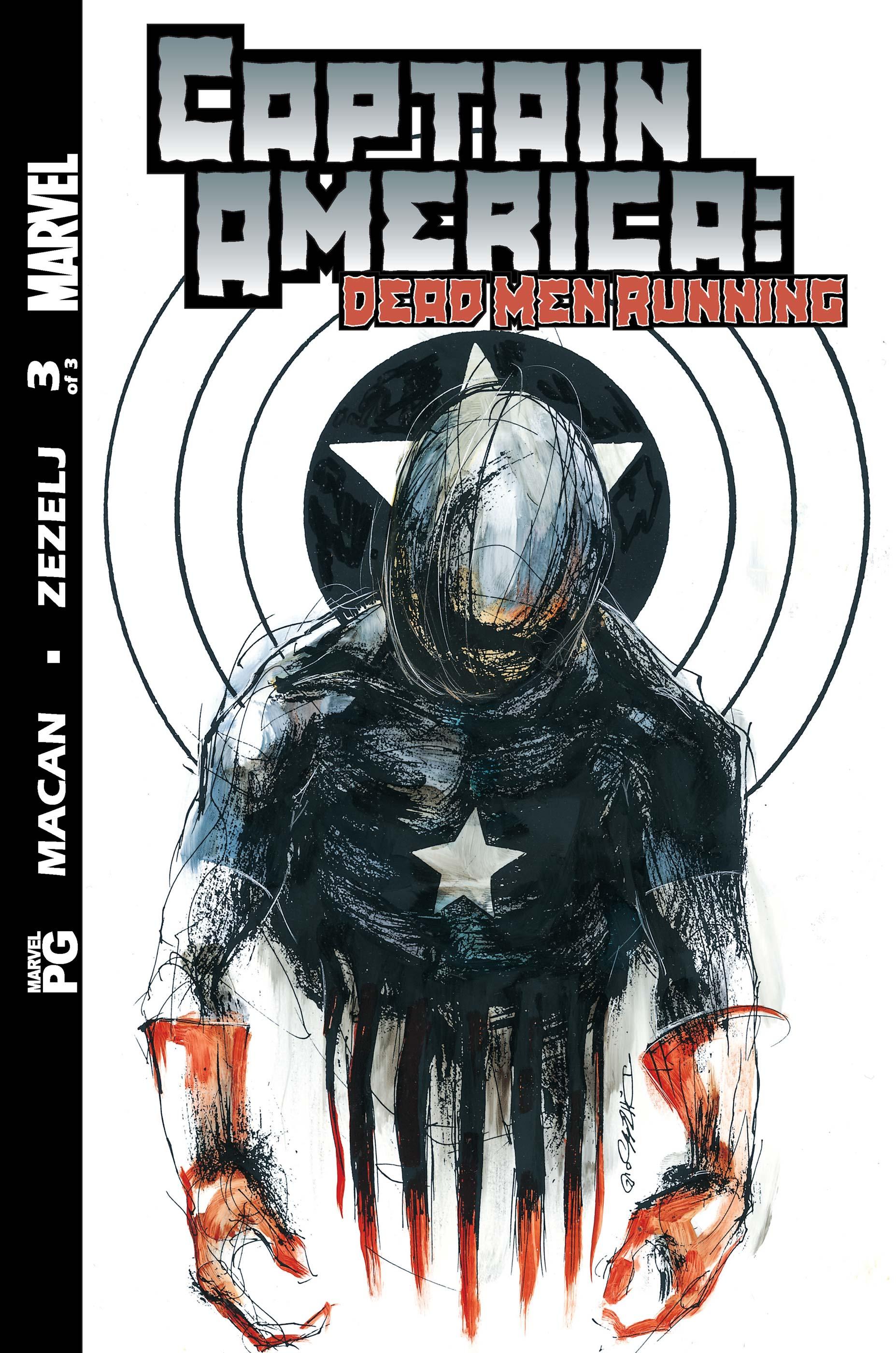 Captain America: Dead Men Running (2002) #3