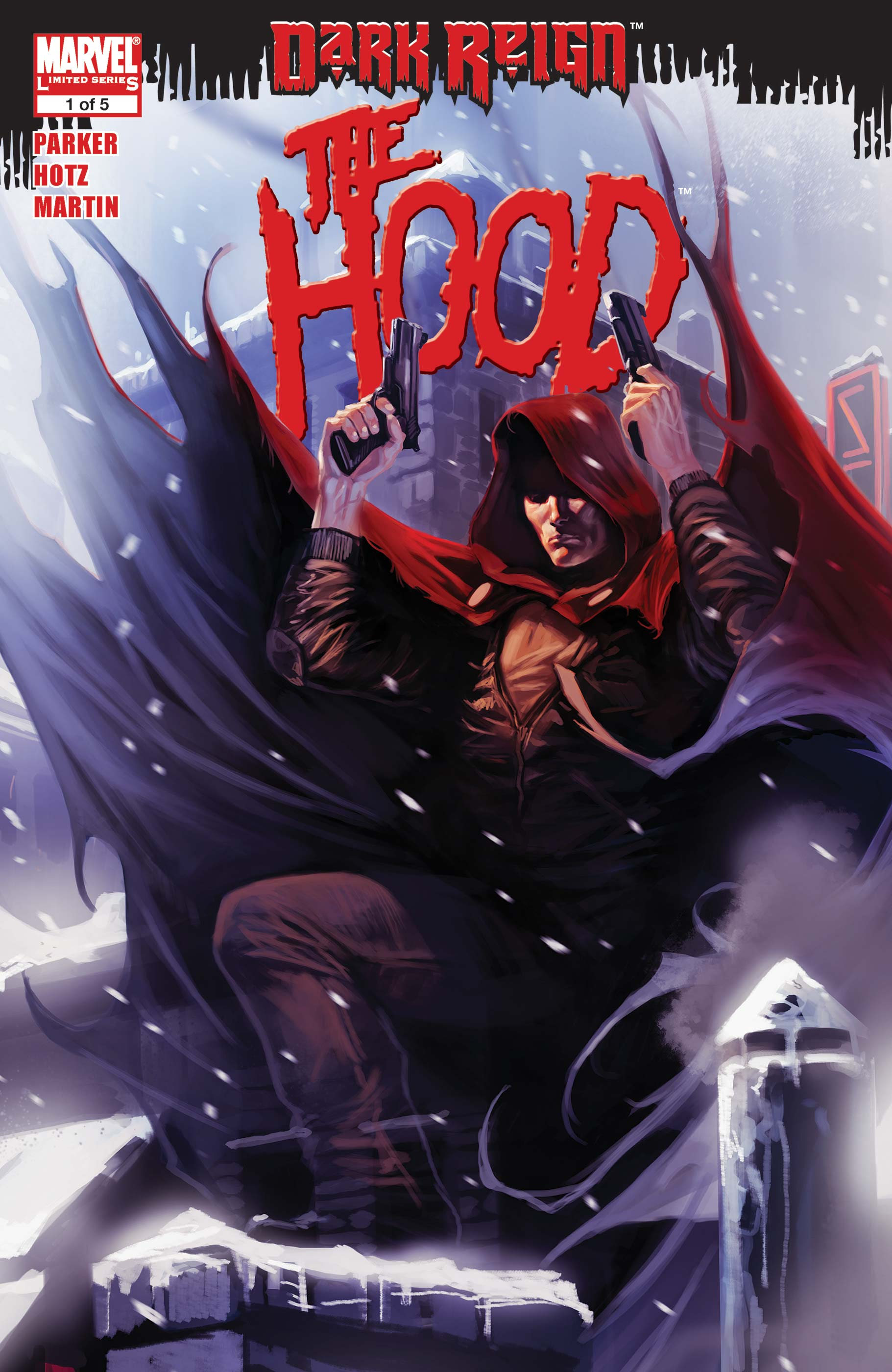 Dark Reign: The Hood (2009) #1