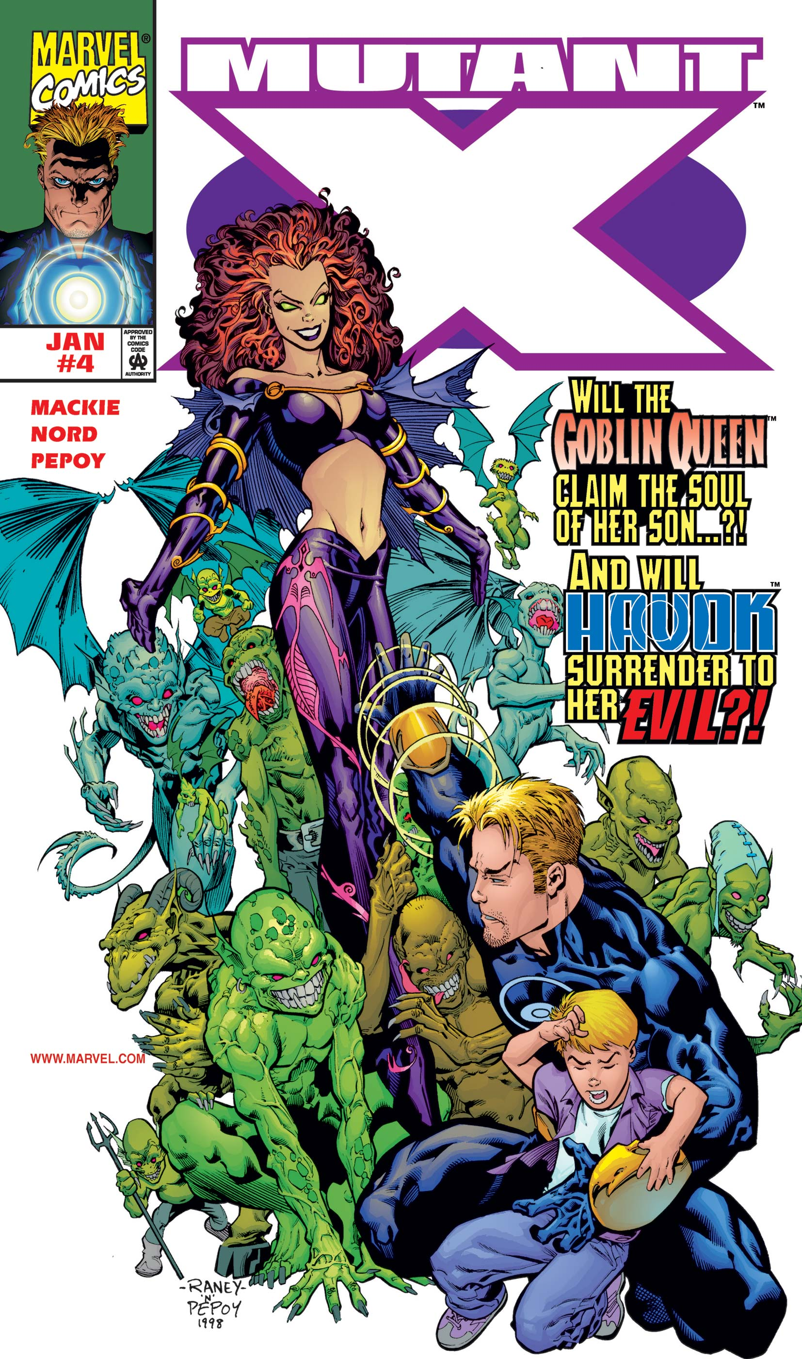 Mutant X (1998) #4