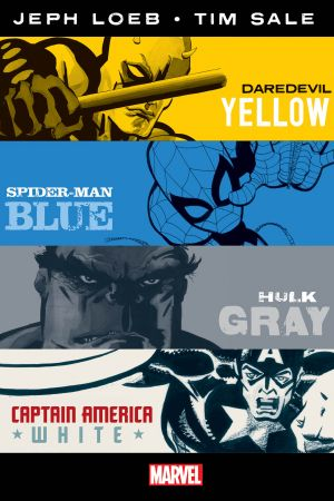 Jeph Loeb & Tim Sale: Yellow, Blue, Gray & White (Hardcover)
