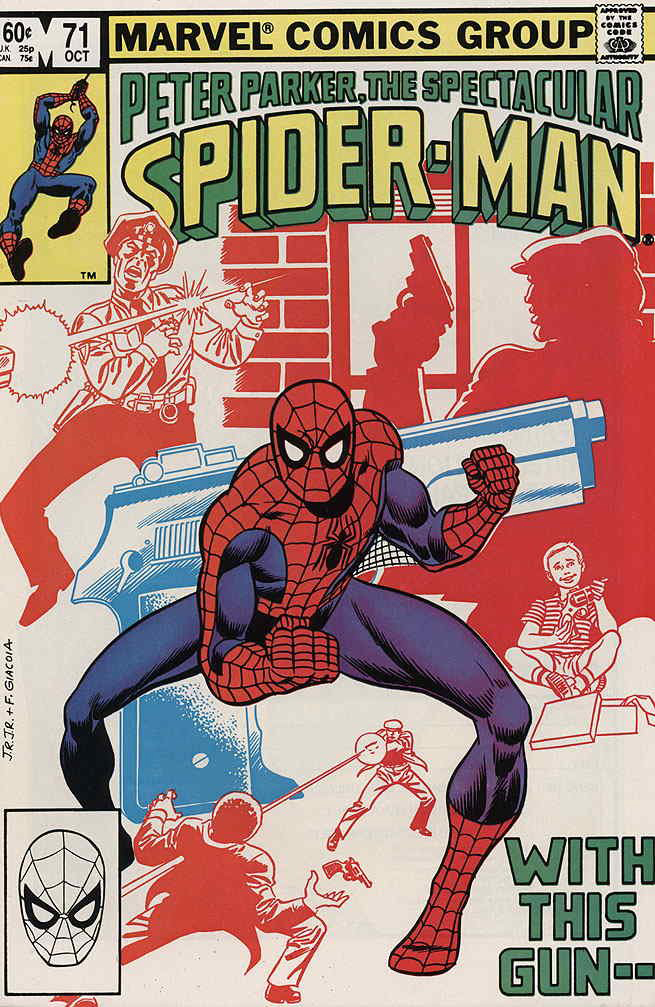 Peter Parker, the Spectacular Spider-Man (1976) #71