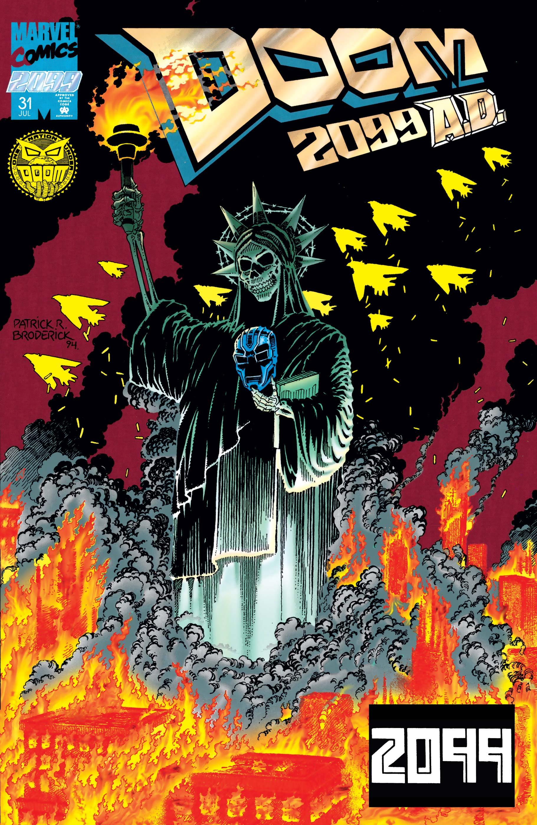Doom 2099 (1993) #31