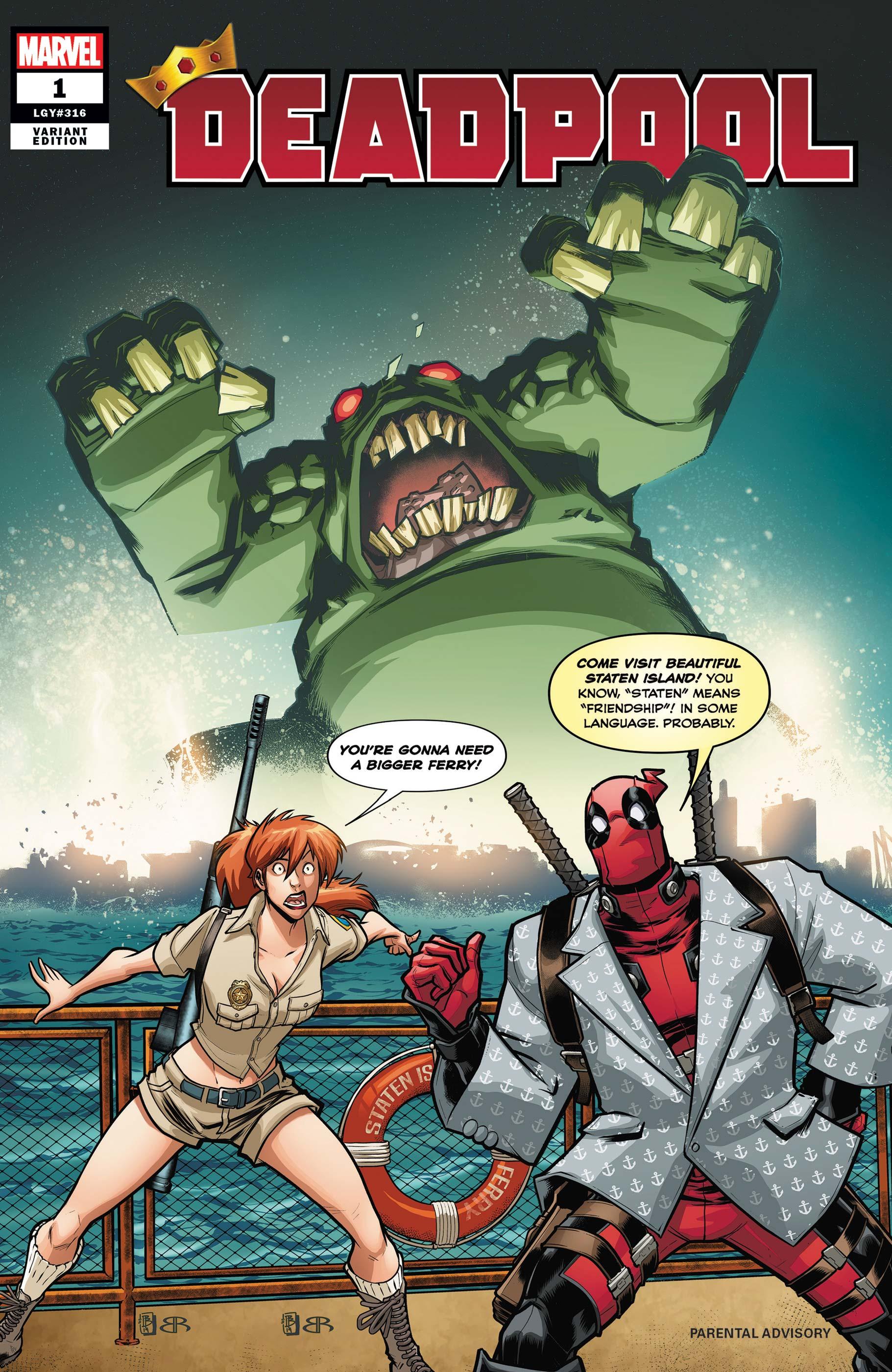 Deadpool (2019) #1 (Variant)