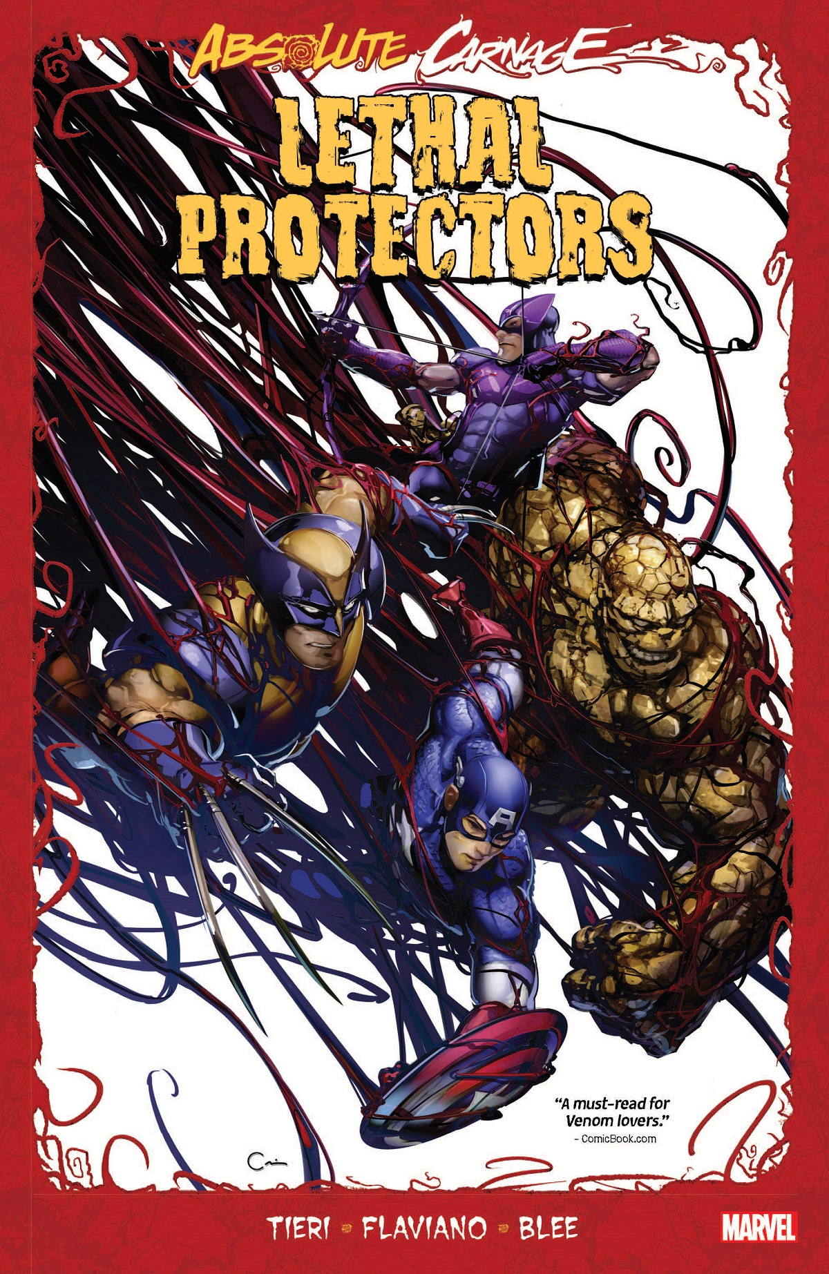 Absolute Carnage: Lethal Protectors (Trade Paperback)