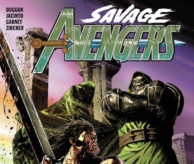 SAVAGE AVENGERS VOL. 2: TO DINE WITH DOOM TPB #2