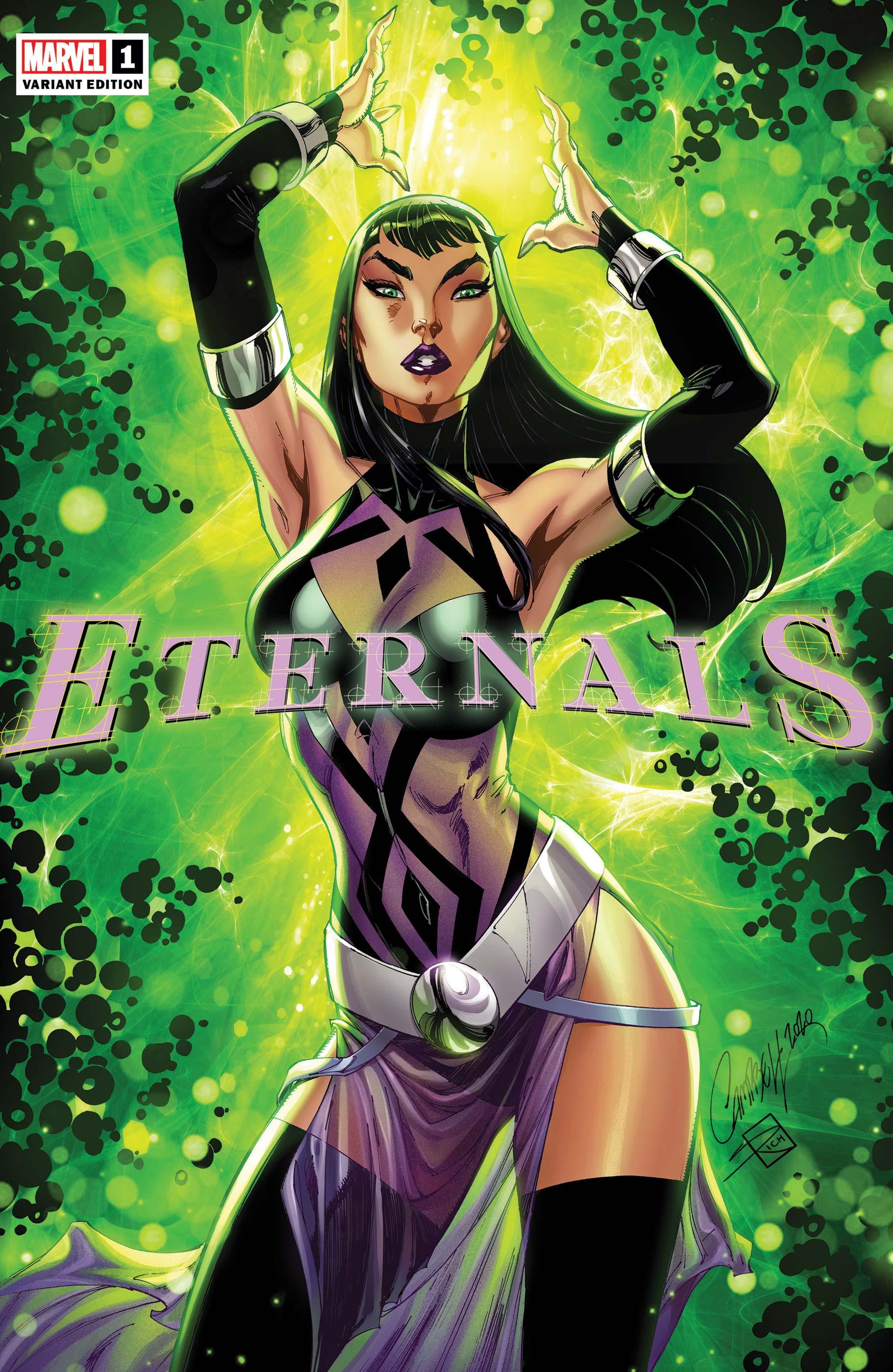 Eternals (2021) #1 (Variant)