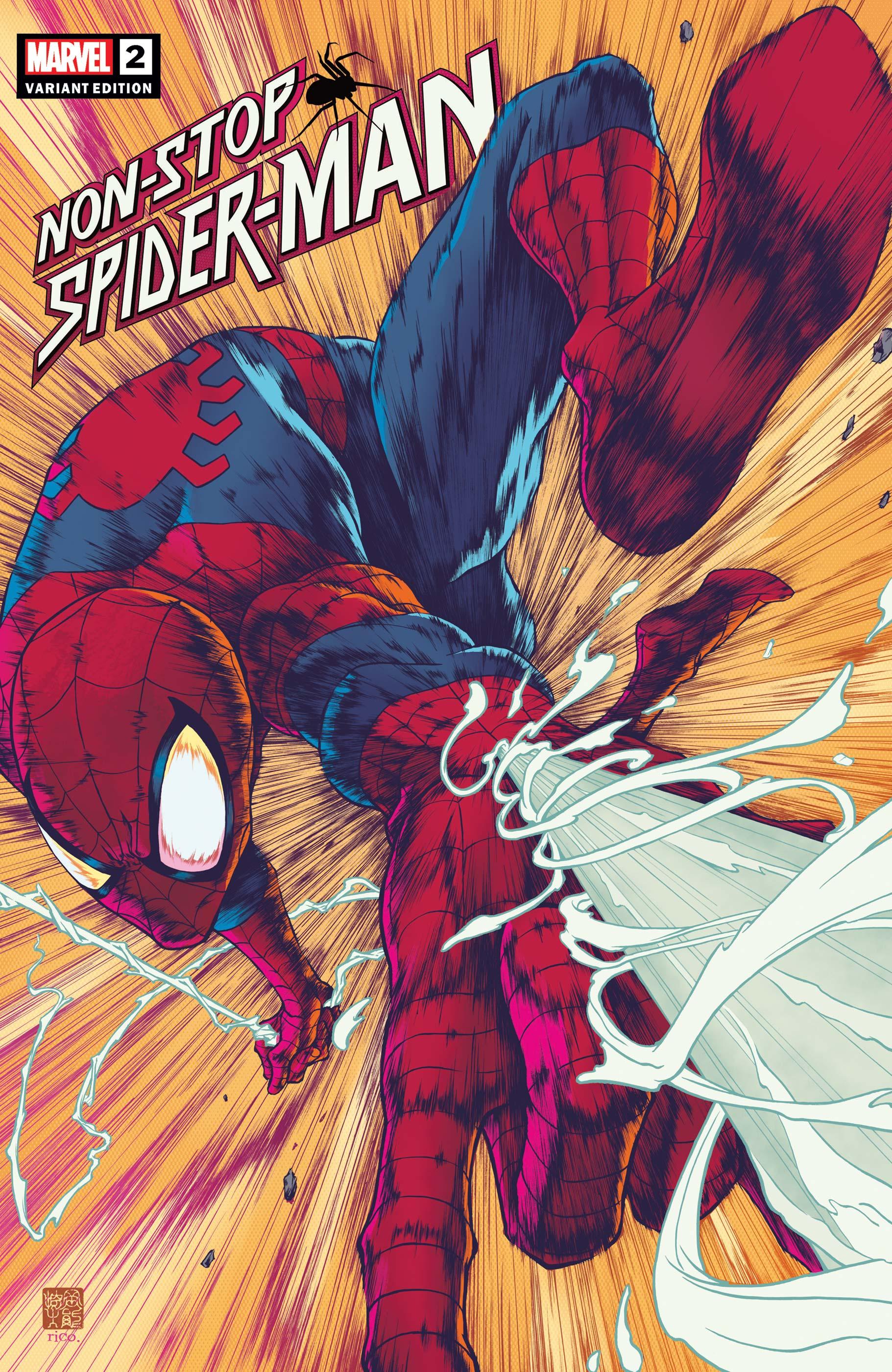 Non-Stop Spider-Man (2021) #2 (Variant)