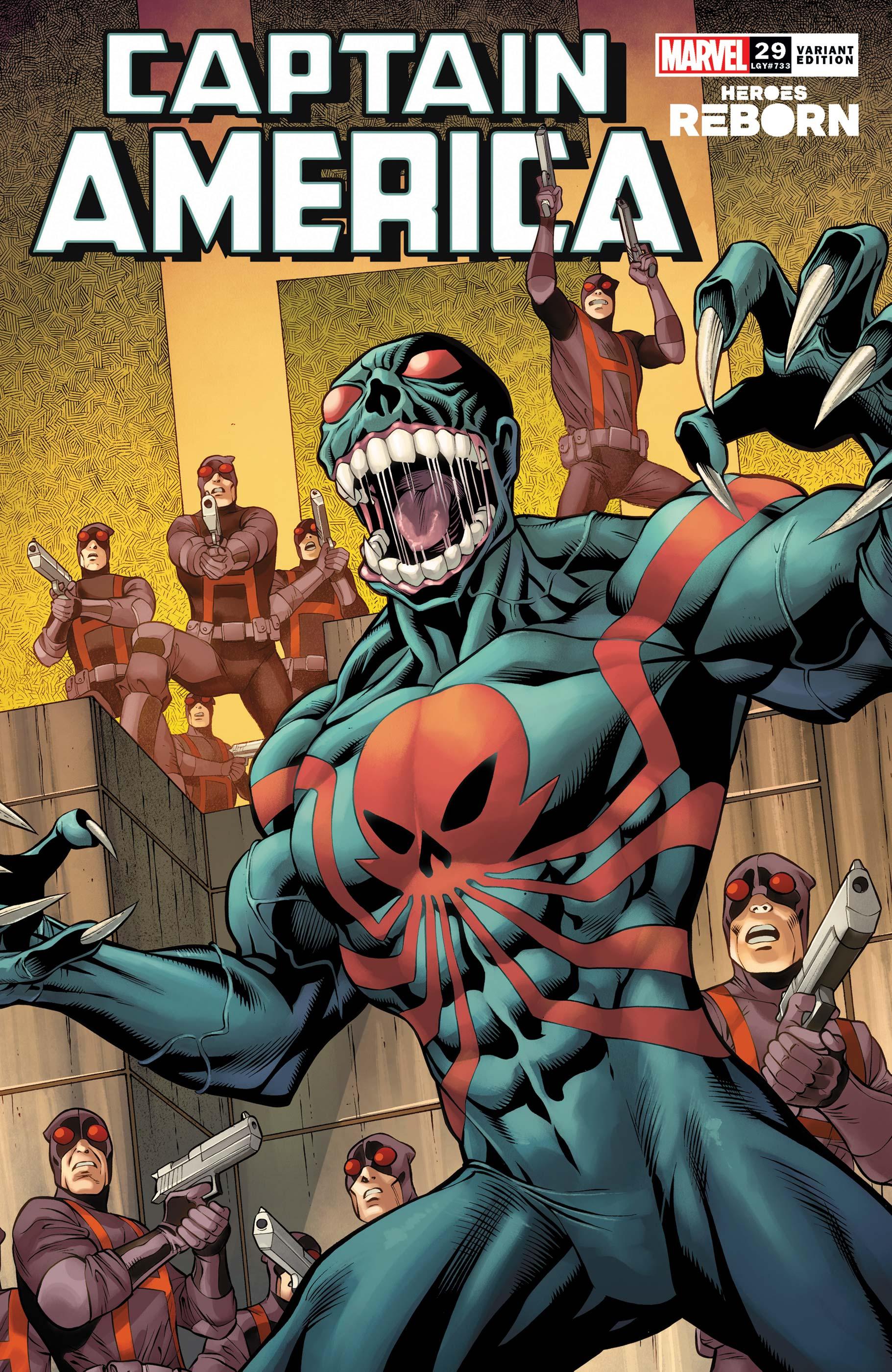 Captain America (2018) #29 (Variant)