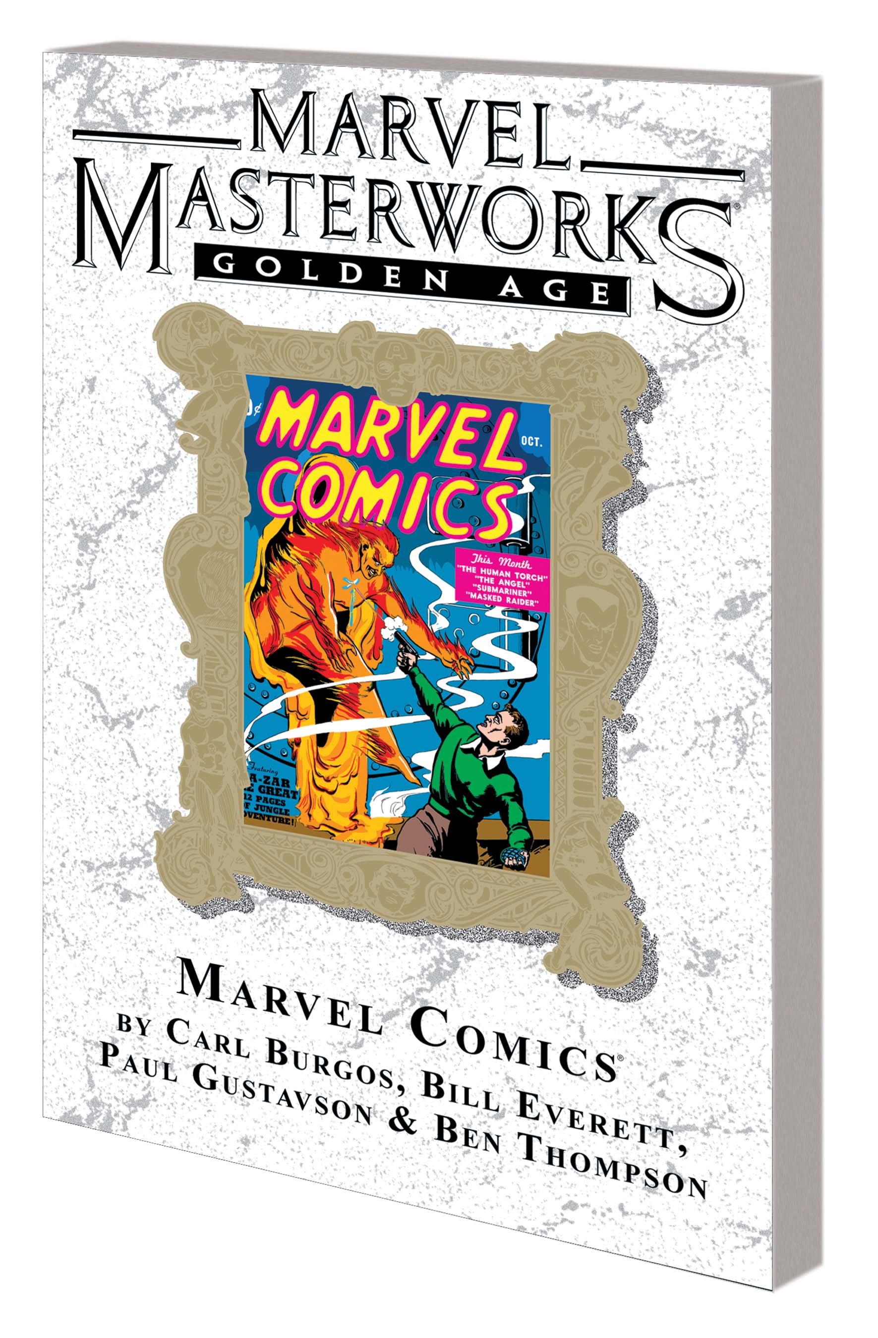 Marvel Masterworks: Golden Age Marvel Comics Vol. 1 Variant (DM Only) (Trade Paperback)