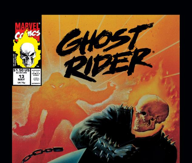Ghost Rider (1990) #13 Cover