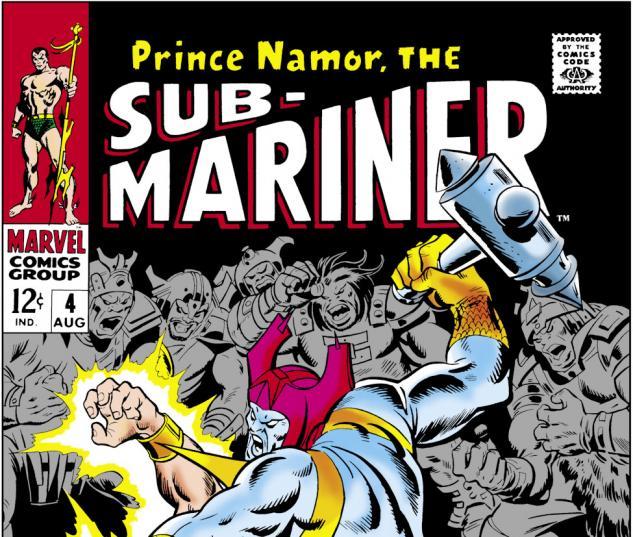 Sub-Mariner (1968) #4 Cover
