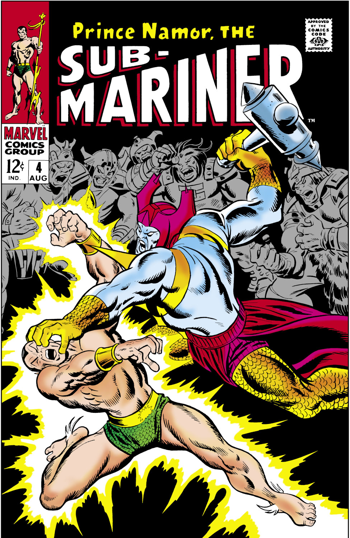 Sub-Mariner (1968) #4