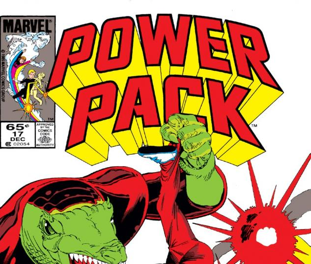 Power Pack (1984) #17 Cover