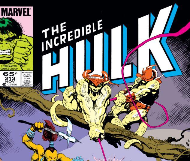 Incredible Hulk (1962) #313 Cover