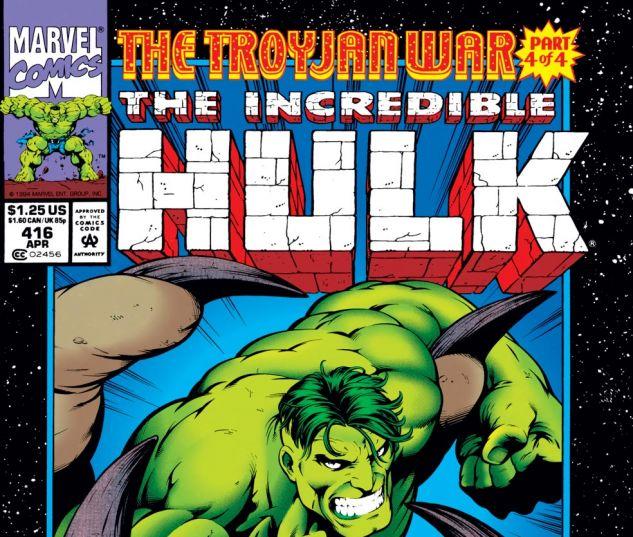Incredible Hulk (1962) #416 Cover