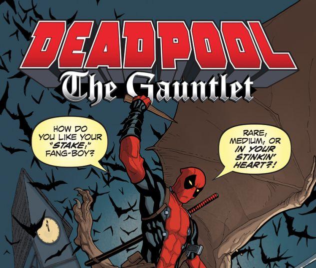 DEADPOOL: THE GAUNTLET 1 (WITH DIGITAL CODE)