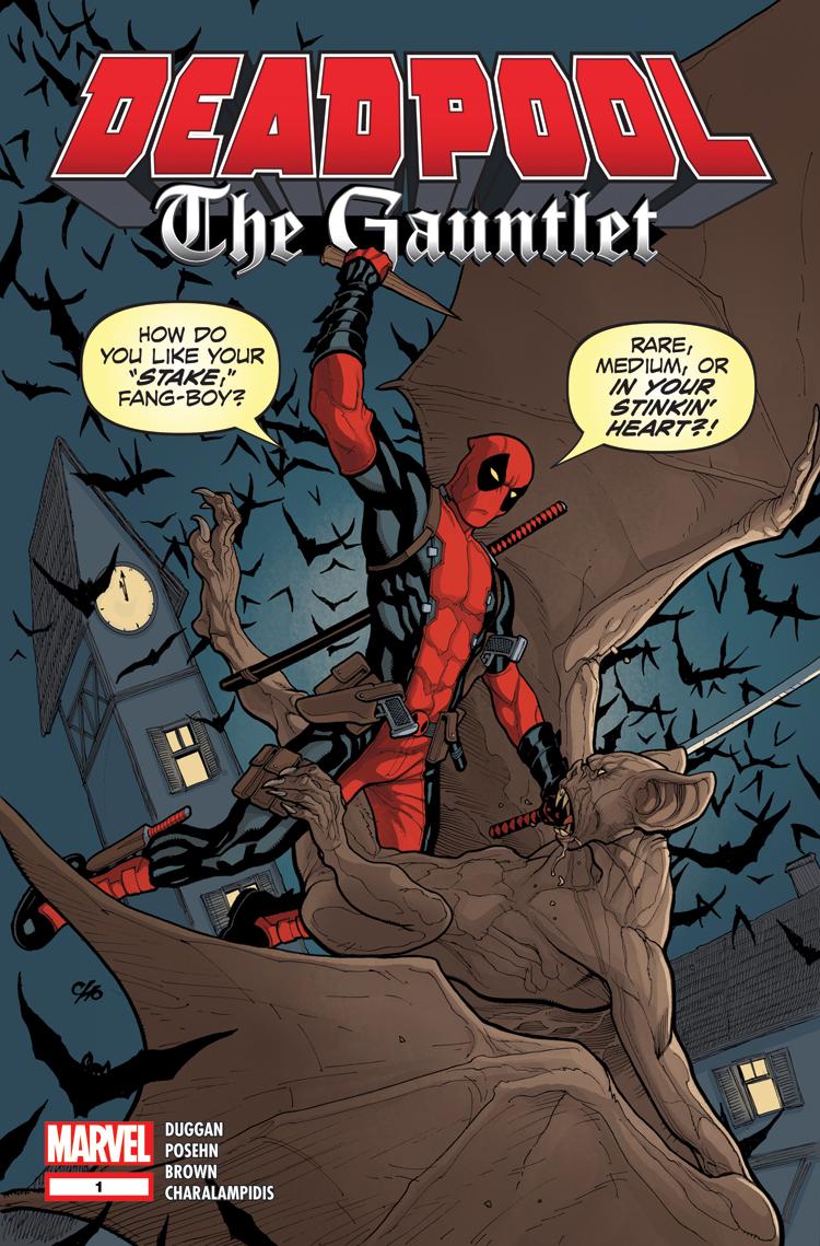 Deadpool: The Gauntlet (2014) #1