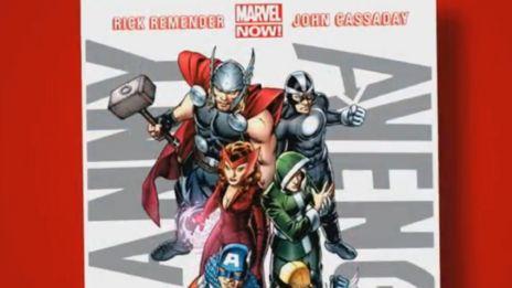 Marvel AR: Uncanny Avengers #1 Cover Recap