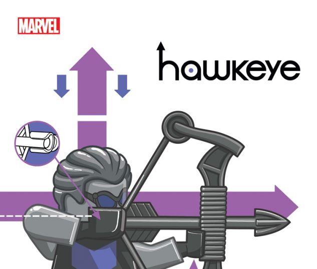 HAWKEYE 15 CASTELLANI LEGO VARIANT