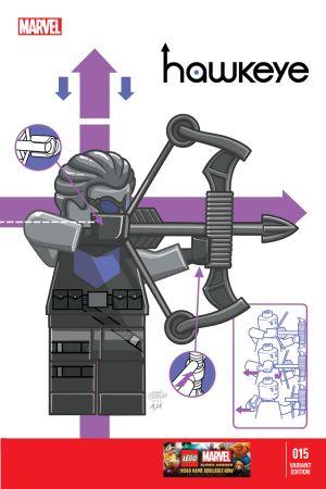 Hawkeye (2012) #15 (Castellani Lego Variant)