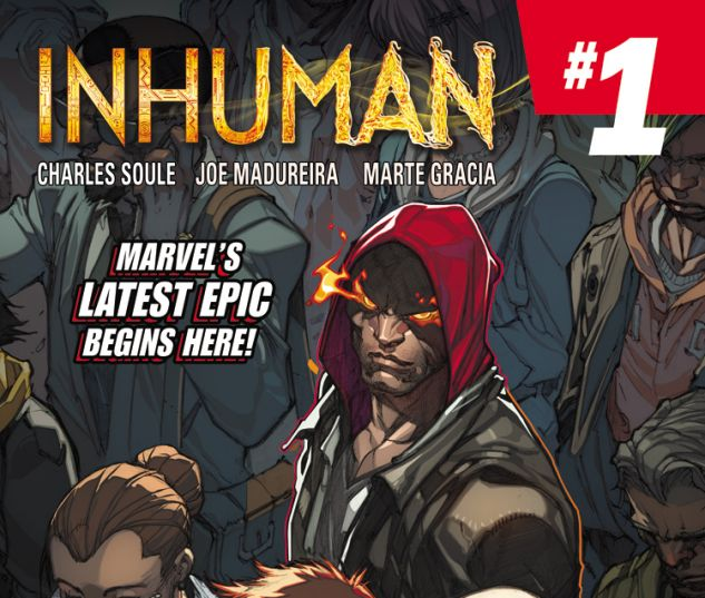 INHUMAN 1 (ANMN, WITH DIGITAL CODE)