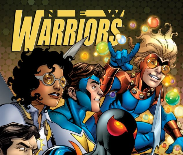 NEW WARRIORS 3 BAGLEY VARIANT (ANMN, WITH DIGITAL CODE)