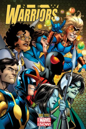 New Warriors (2014) #3 (Bagley Variant)
