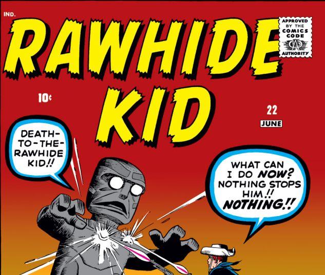 Rawhide Kid (1960) #22 Cover