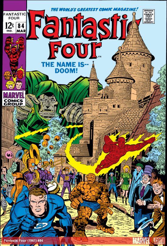 Fantastic Four (1961) #84
